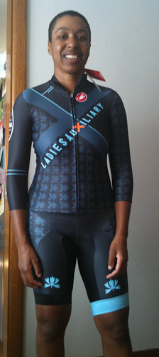 Sweetpea Ladies Auxiliary skinsuit