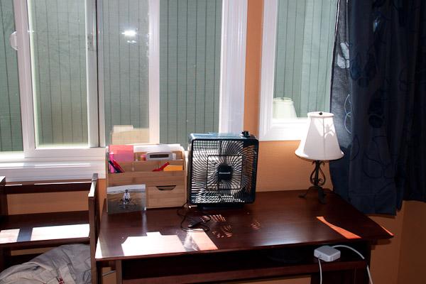 Jessica's desk