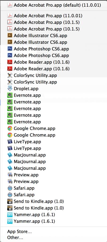App Duplicates