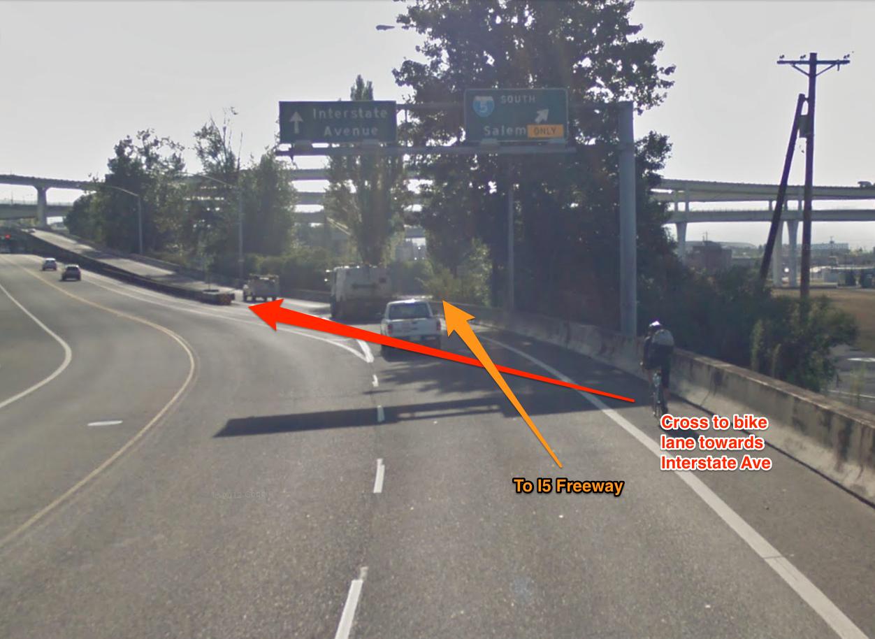Greeley Bike Lane Crossing