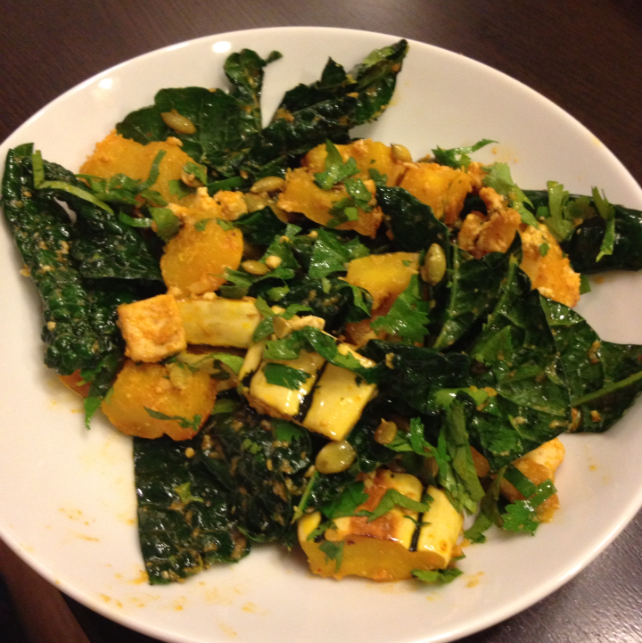 Miso-Curry Delicata Squash