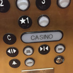 Extra large casino elevator button