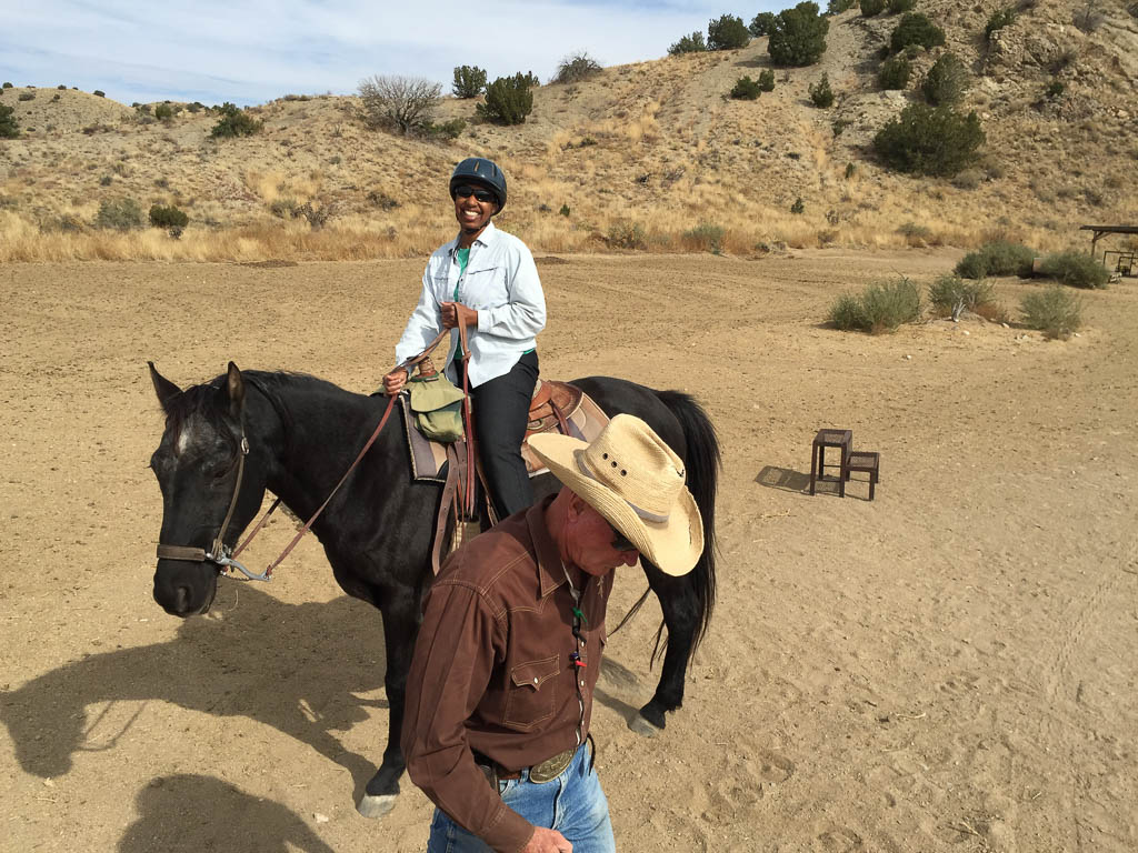 Me settled on my horse for a 2 hour tour.
