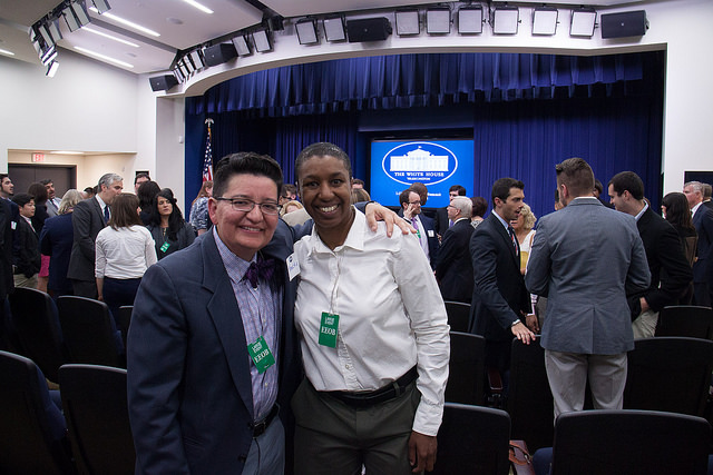 Me and Monica Arrambide at the White House