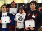 My iUrbanTeen group at the U of P Tech summit