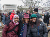 Kronda, Kim & Traci on the Capital lawn, Washington D.C.