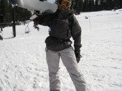 Me at the end of a successful snowboarding day