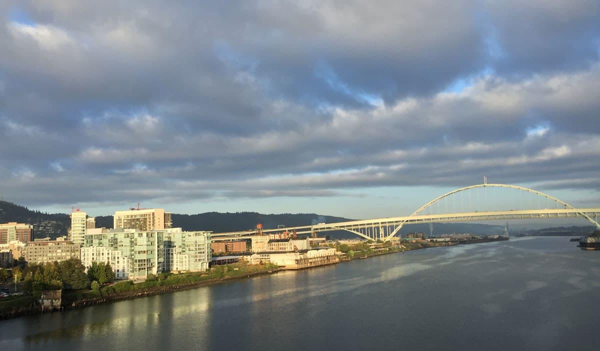 Downtown Portland, 405 Bridge